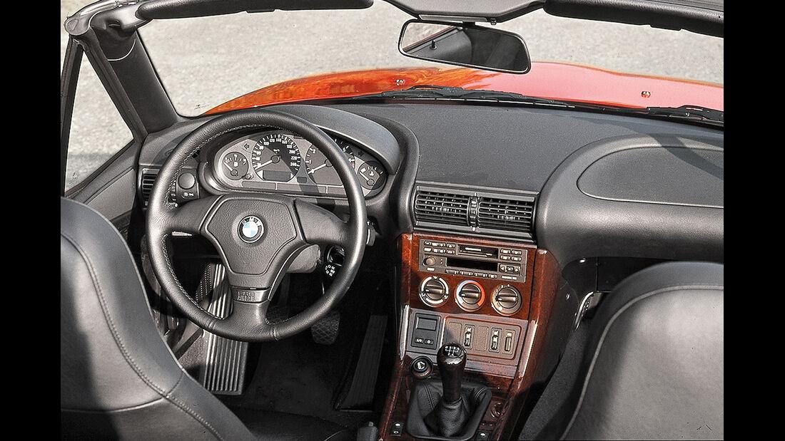 BMW Z3 1.8 Roadster (E36-7), Cockpit