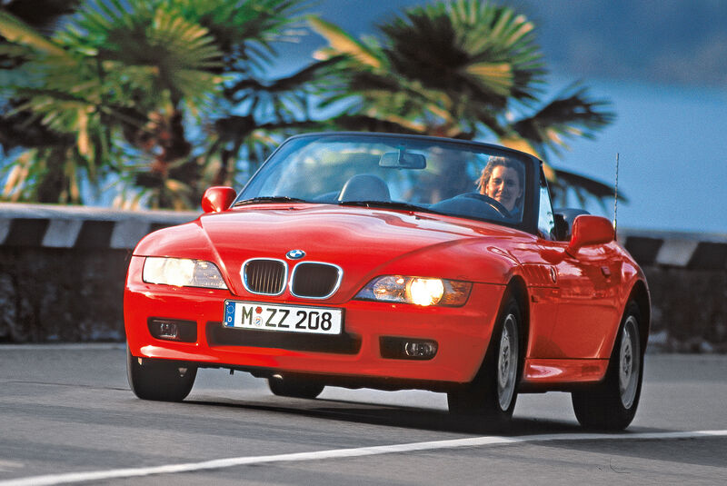 BMW Z3 1.8 Roadster (E36-7), Frontansicht