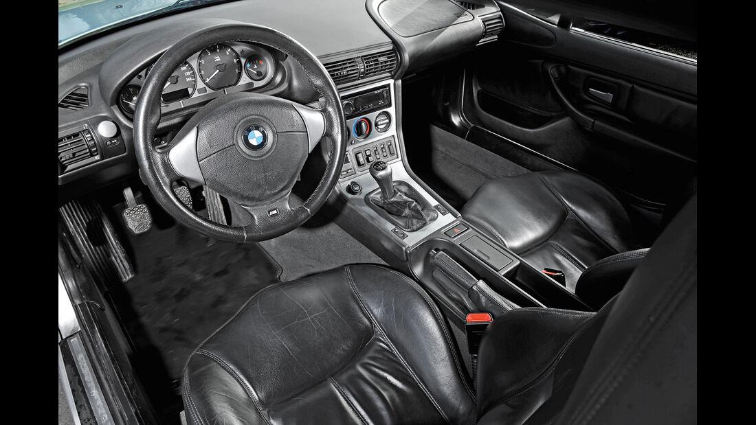 BMW Z3 Coupé, Cockpit