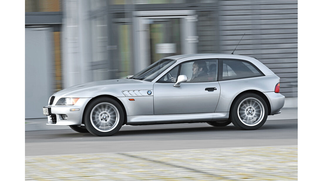 BMW Z3 Coupé, Seitenansicht