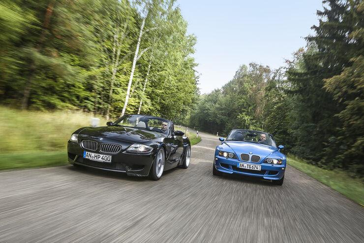 BMW Z3 M Roadster, BMW Z4 M Roadster, Exterieur