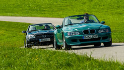 BMW Z3 M Roadster, Mercedes-Benz SLK 32 AMG, Exterieur