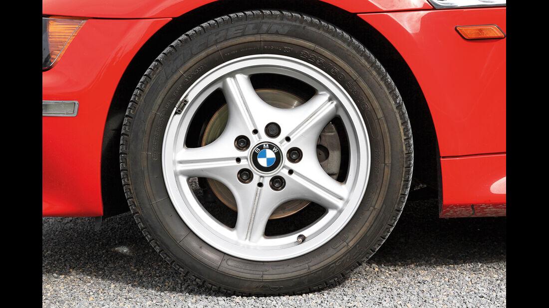 BMW Z3, Rad, Felge