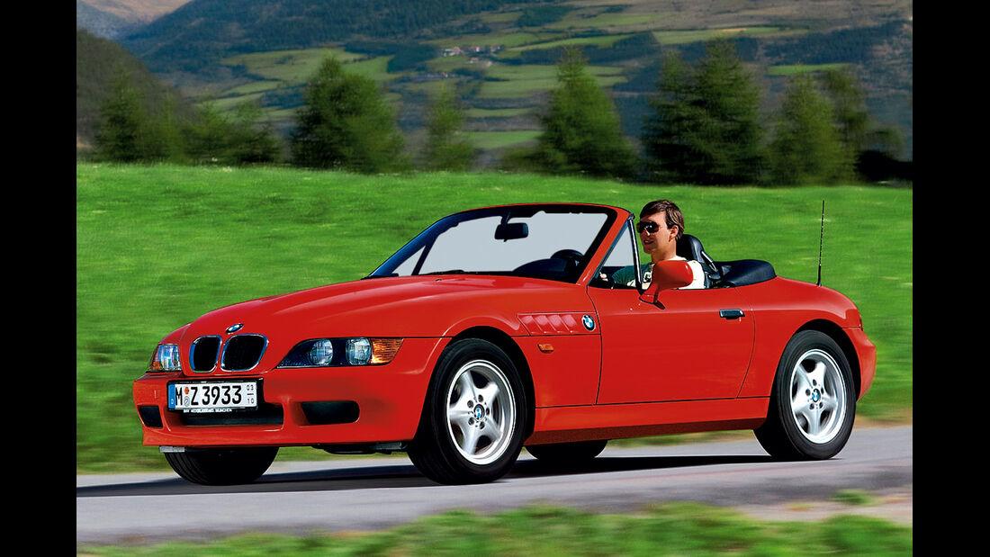 BMW Z3 Roadster, Seitenansicht