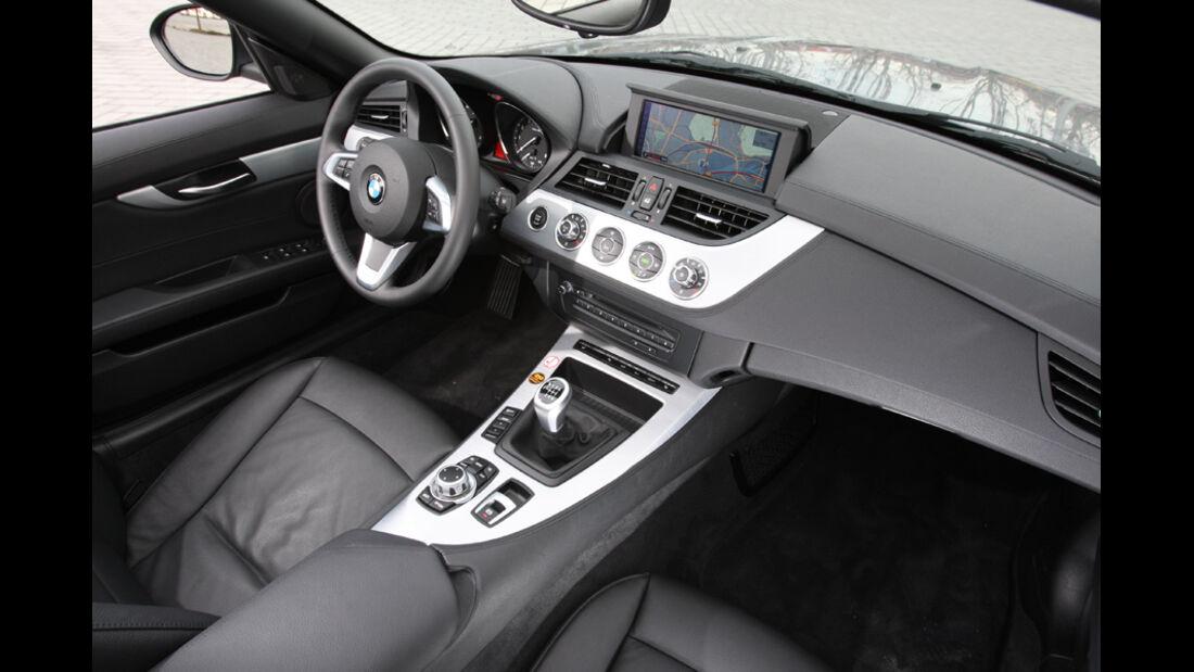 BMW Z4 28i, Cockpit