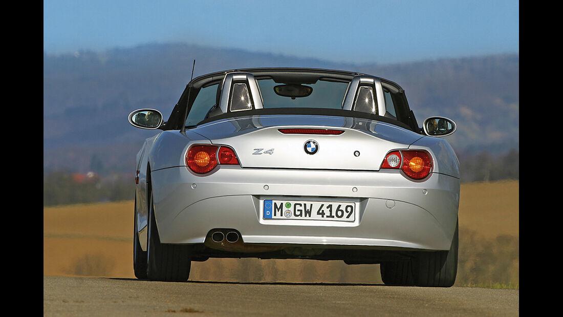 BMW Z4 3.0i, Heckansicht