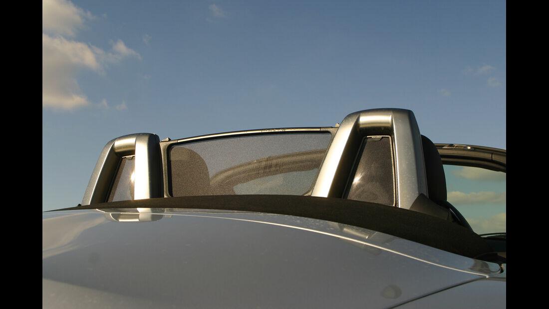 BMW Z4 3.0i, Kopfstütze, Windschott