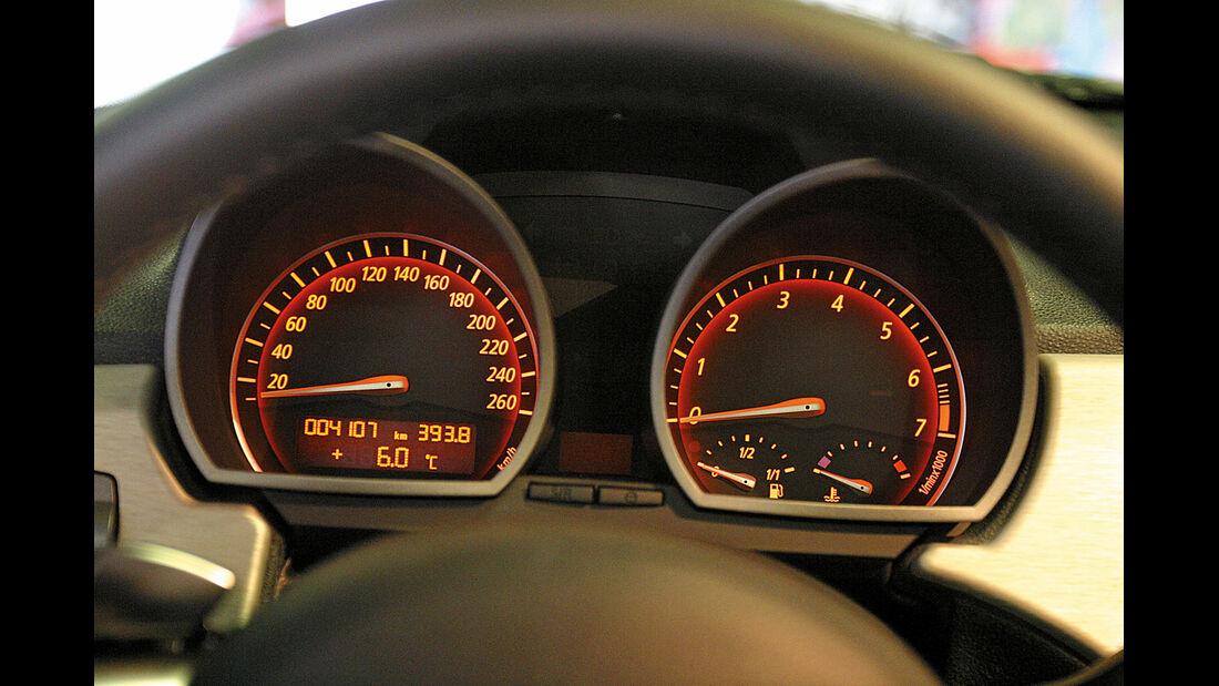 BMW Z4 3.0i, Rundinstrument