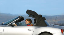 BMW Z4 3.0i, Verdeck öffnet