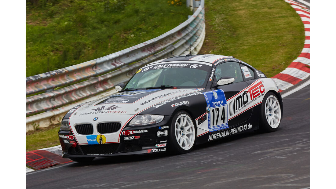 BMW Z4 3.0si - Pixum Team Adrenalin Motorsport - Startnummer: #174 - Bewerber/Fahrer: Anthony Toll, Carlos Arimon Solivellas, Richard Moers - Klasse: V5