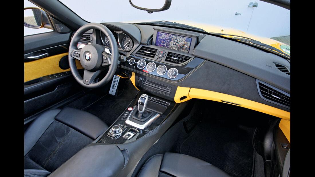 BMW Z4 35i, Innenraum, Cockpit