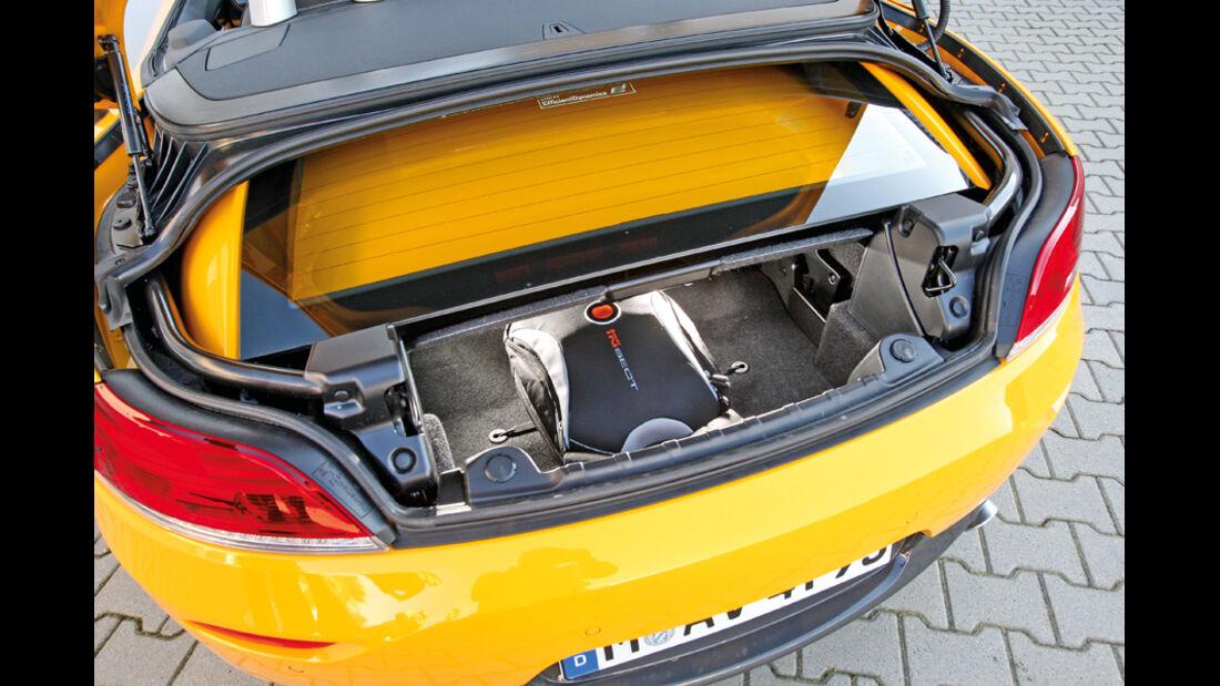BMW Z4 35i, Kofferraum