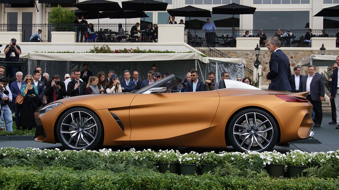 BMW Z4 Concept live Pebble Beach 2017