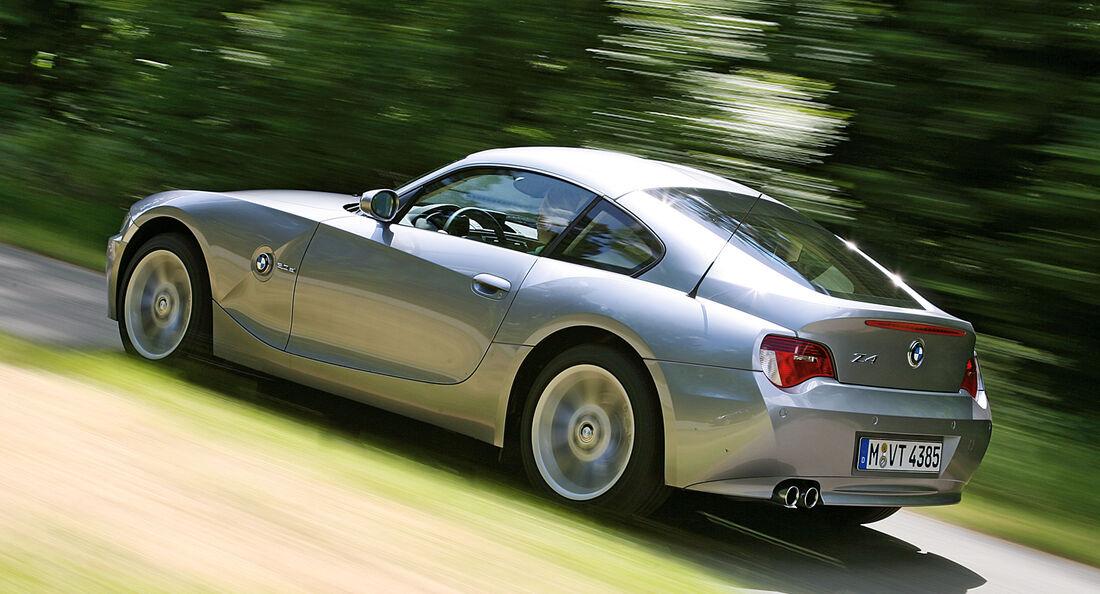 BMW Z4 Coupé 3.0 si, Heckansicht