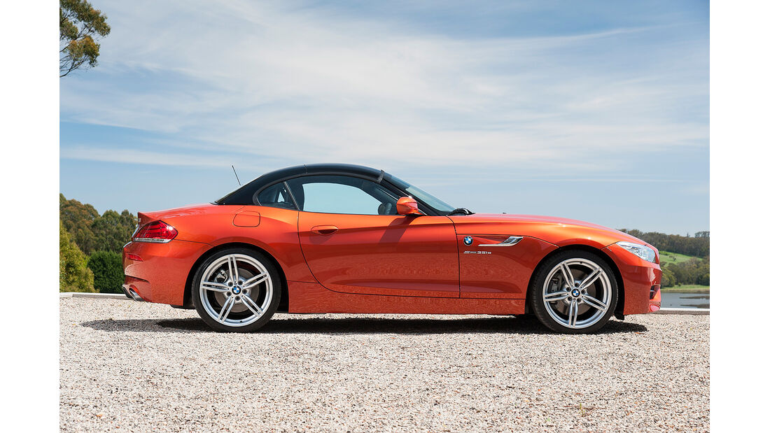 BMW Z4 Facelift 2013, Dachmechanismus