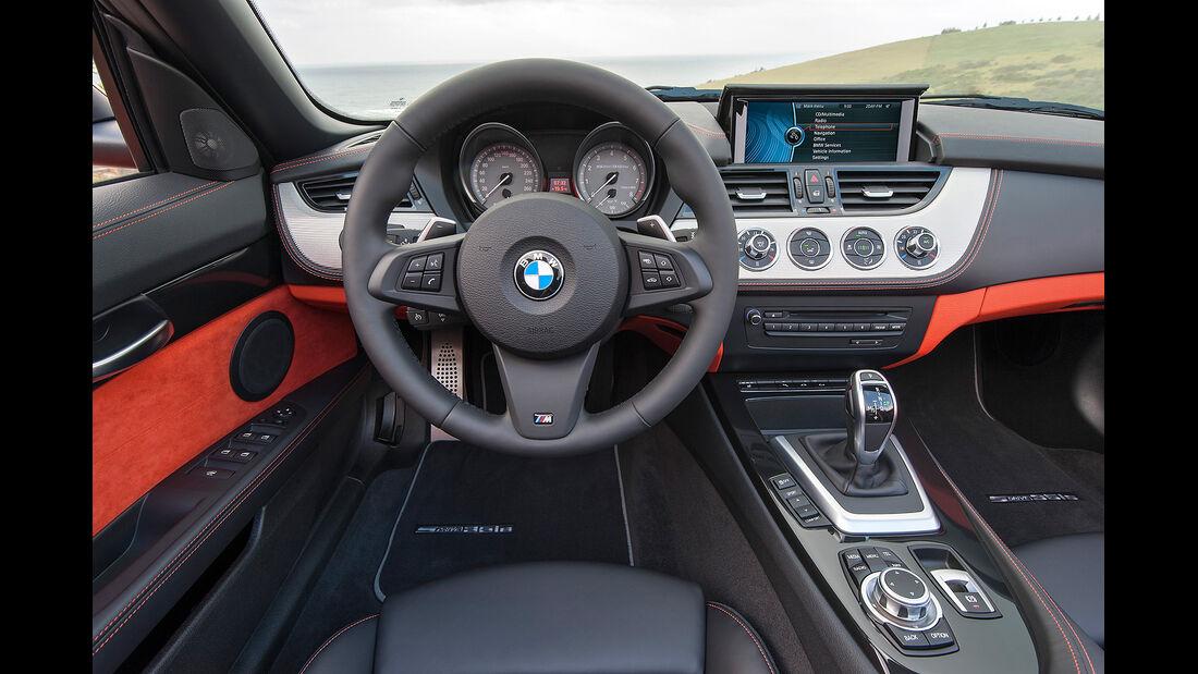 BMW Z4 Facelift 2013, Innenraum, Cockpit