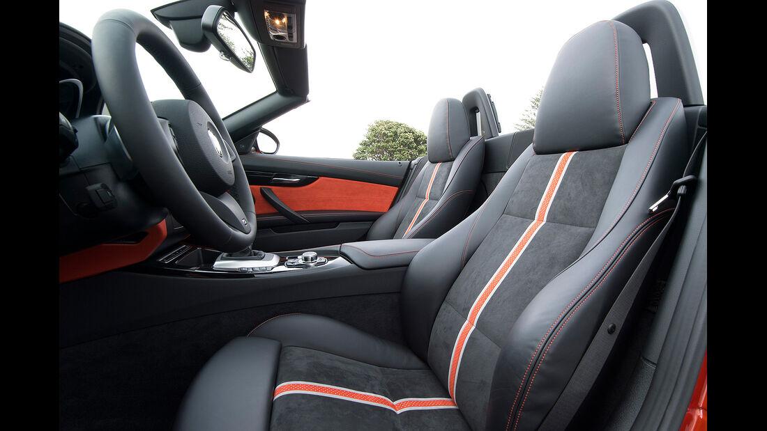 BMW Z4 Facelift 2013, Innenraum, Cockpit, Sitze