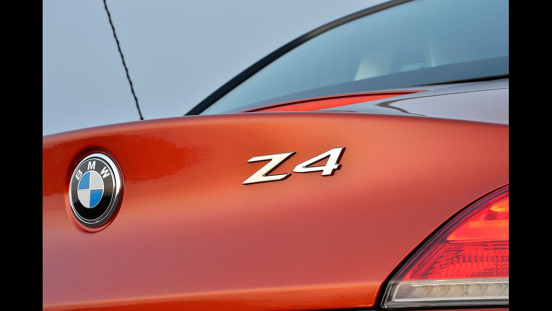 BMW Z4 Facelift 2013, Modellbezeichnung