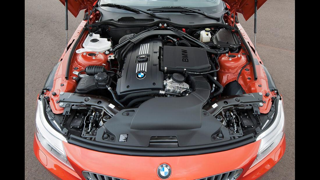 BMW Z4 Facelift 2013, Motor
