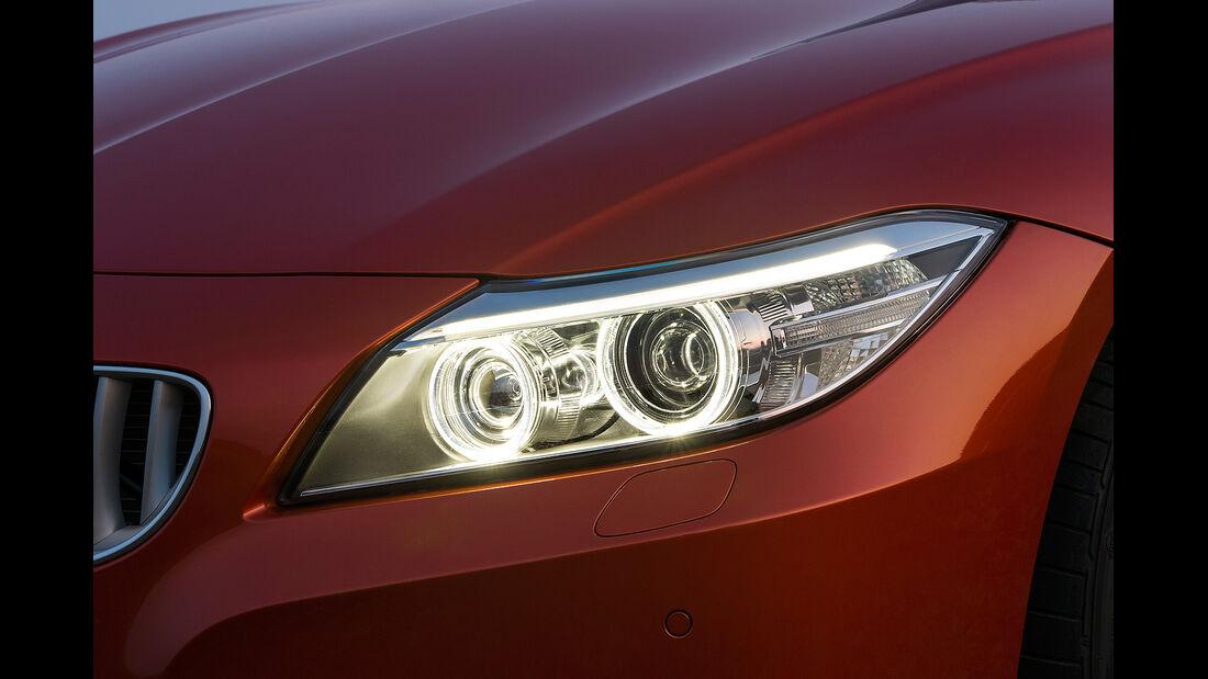 BMW Z4 Facelift 2013, Scheinwerfer
