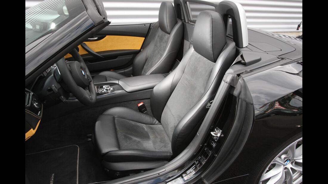 BMW Z4, Fahrersitz, Sitze