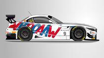 BMW Z4 GT3 - 24h Spa - 2015