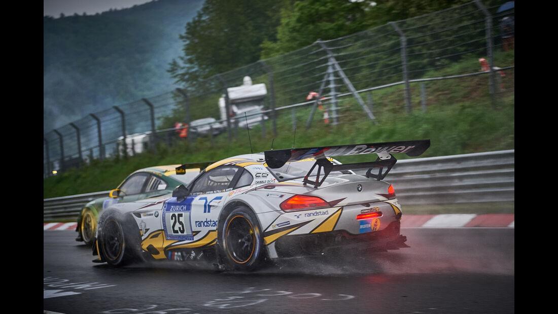 BMW Z4 GT3 - BMW Sports Trophy Team Marc VDS - #25 - Maxime Martin, Lucas Luhr, Markus Palttala, Richard Westbrook - 24h Nürburgring  - Donnerstag - 1. Qualifying - 14.5.2015