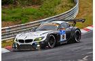 BMW Z4 GT3 - BMW Sports Trophy Team Schubert - Startnummer: #19 - Bewerber/Fahrer: Dirk Werner, Dirk Müller, Lucas Luhr, Alexander Sims - Klasse: SP9 GT3