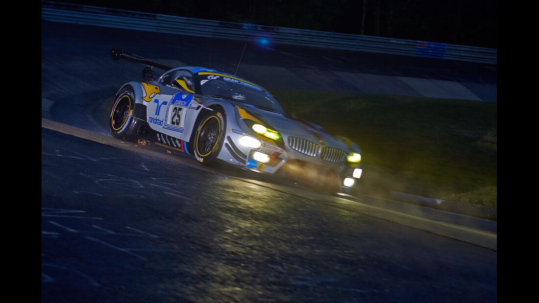 BMW Z4 GT3 - Marc VDS - #25 - 24h-Rennen Nürburgring 2014 -  Qualifikation 1