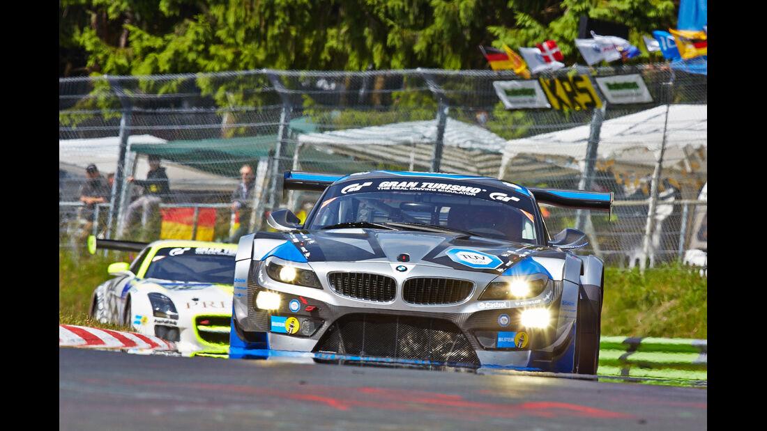 BMW Z4 GT3 - Marc VDS - Impressionen - 24h-Rennen Nürburgring 2014 - Qualifikation 1
