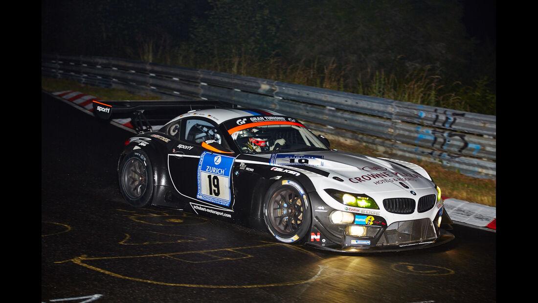 BMW Z4 GT3 - Schubert Motorsport - #19 - 24h-Rennen Nürburgring 2014 - Qualifikation 1