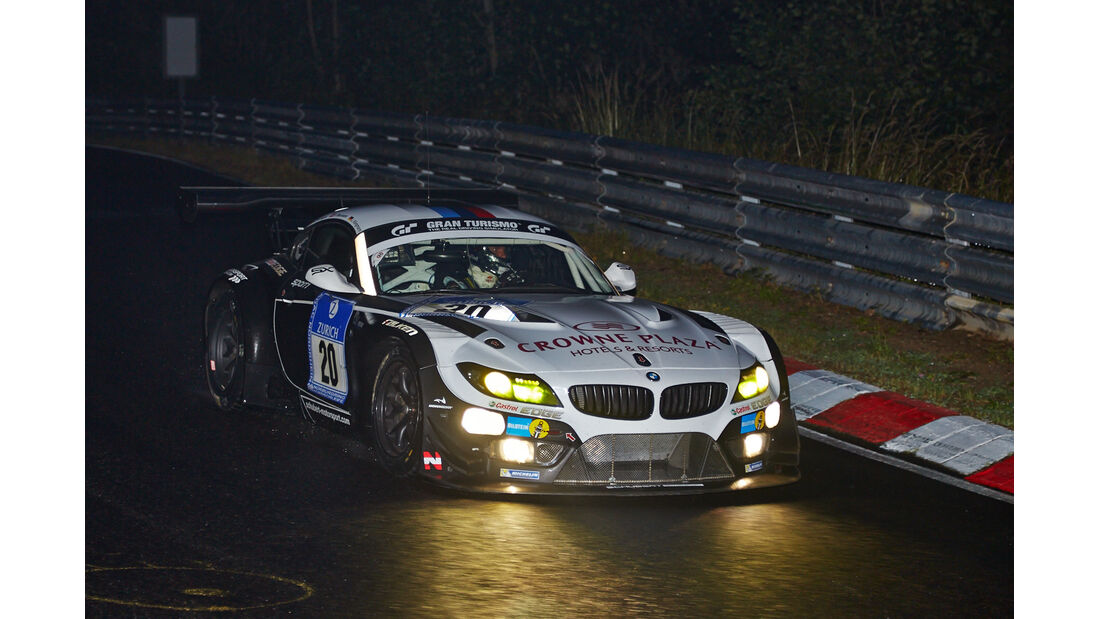 BMW Z4 GT3 - Schubert Motorsport - #20 - 24h-Rennen Nürburgring 2014 - Qualifikation 1