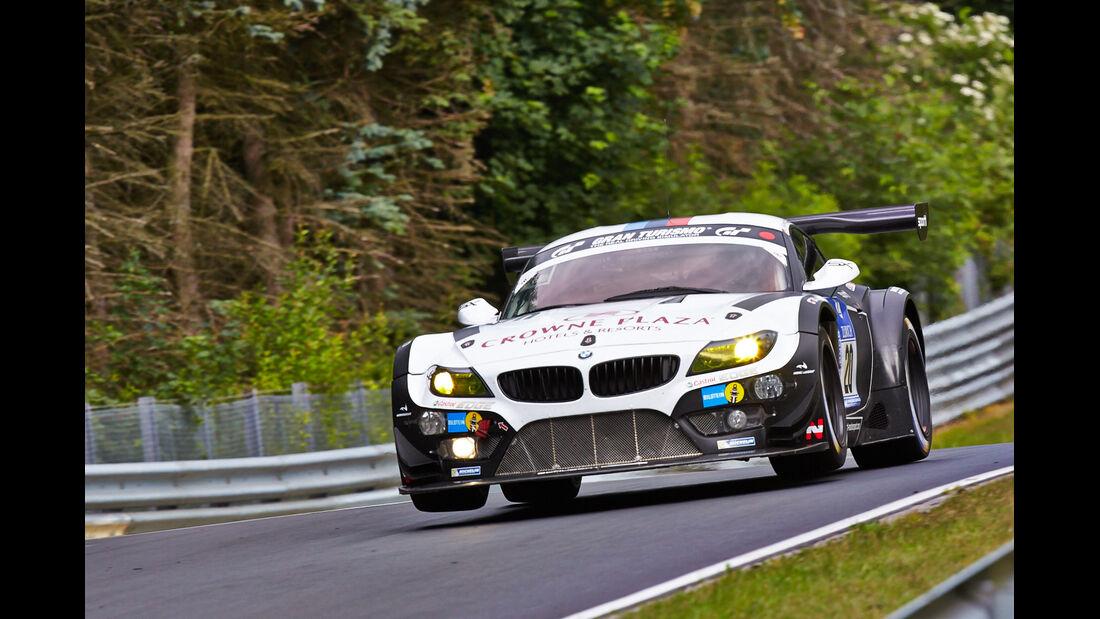 BMW Z4 GT3 - Schubert Motorsport - 24h-Rennen Nürburgring 2014 - Top-30-Qualifying