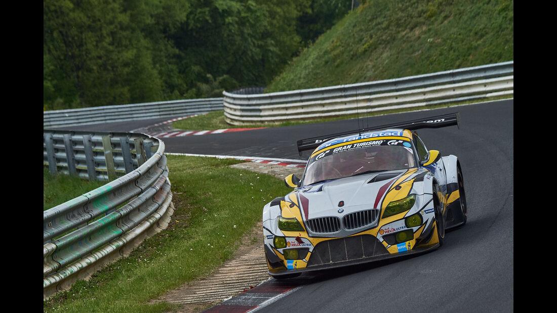 BMW Z4 GT3 - Startnummer 25 - 24h-Rennen Nürburgring 2015 - Donnerstag - 14.5.2015