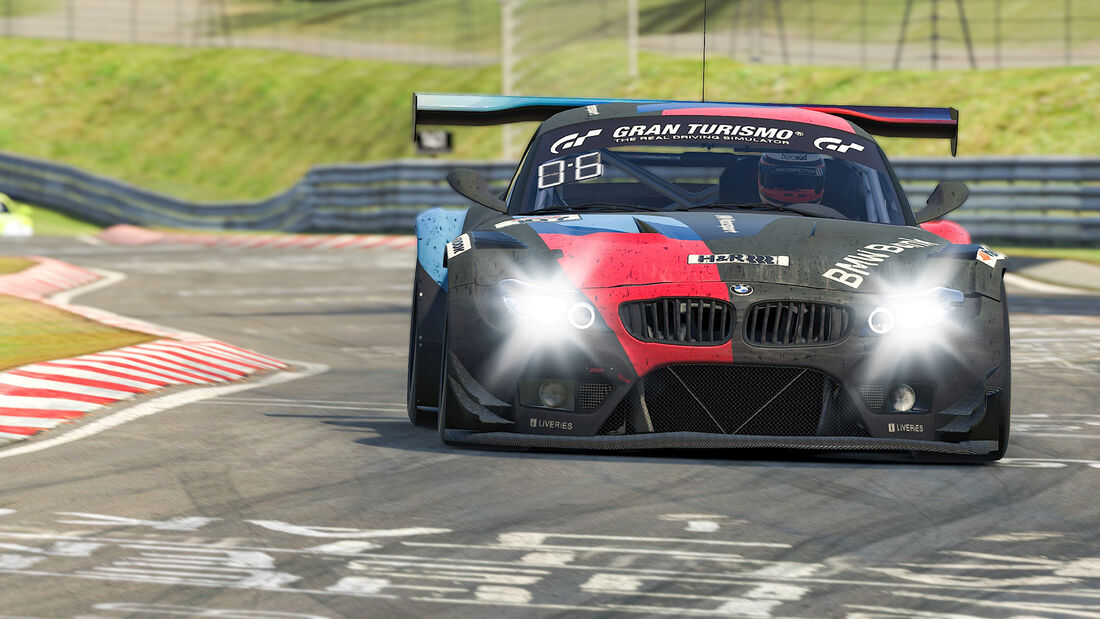BMW Z4 GT3 - Team BMW Bank - #107 - Digitale Nürburgring Langstrecken-Serie