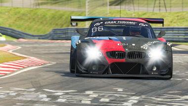 BMW Z4 GT3 - Team BMW Bank - #107 - Digitale Nürburgring Langstrecken-Serie