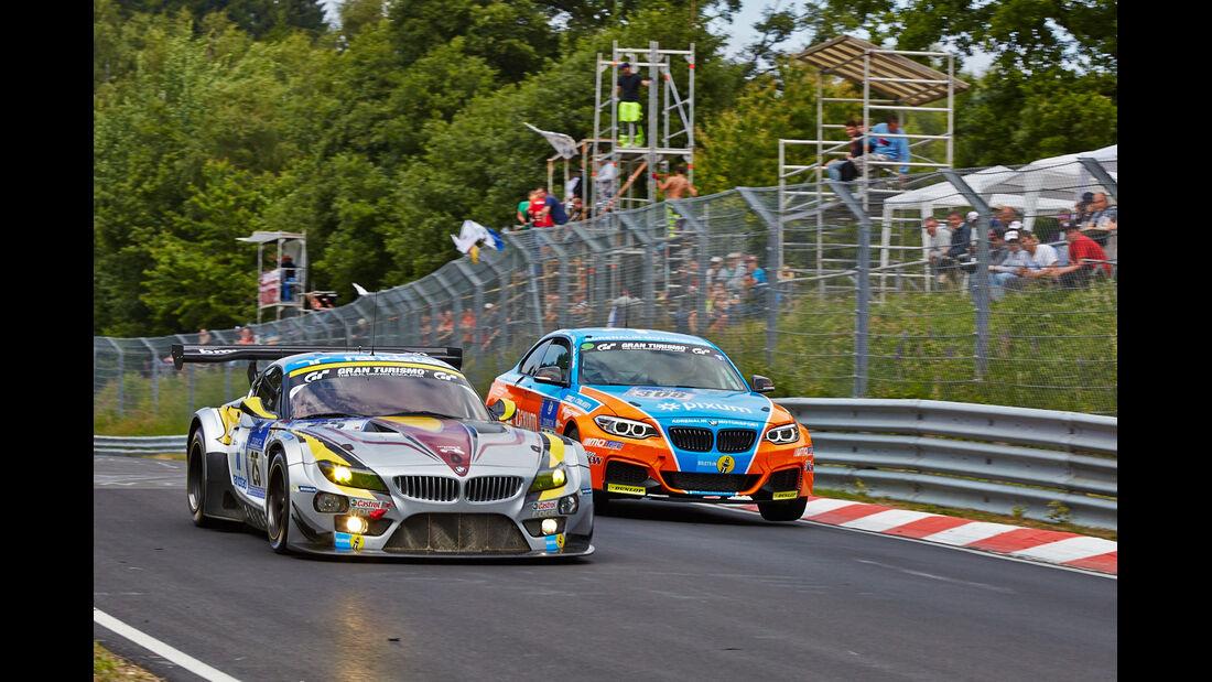 BMW Z4 GT3 - Team Marc VDS - Impressionen - 24h-Rennen Nürburgring 2014 - #25 - Qualifikation 1
