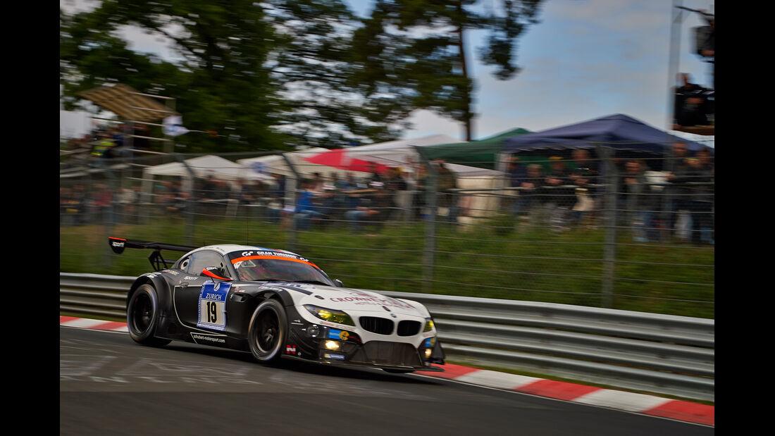 BMW Z4 GT3 - Team Schubert - 24h-Rennen Nürburgring 2014 - Top-30-Qualifying