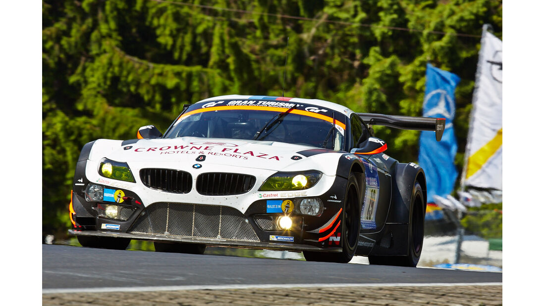 BMW Z4 GT3 - Team Schubert - Impressionen - 24h-Rennen Nürburgring 2014 - #19 - Qualifikation 1