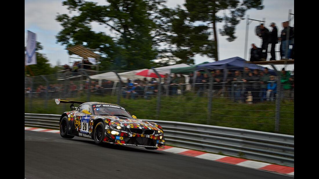 BMW Z4 GT3 - Walkenhorst Motorsport - 24h-Rennen Nürburgring 2014 - Top-30-Qualifying