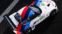 BMW Z4 GTE, Draufsicht