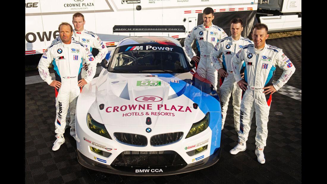 BMW Z4 GTE, Frontansicht, Team