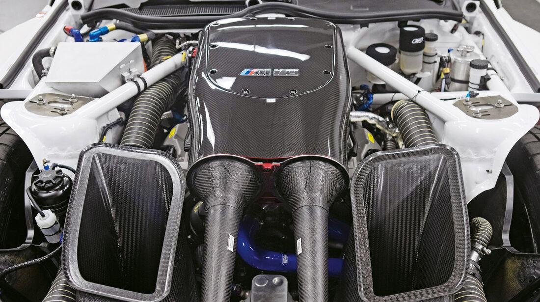 BMW Z4 GTE, Motor