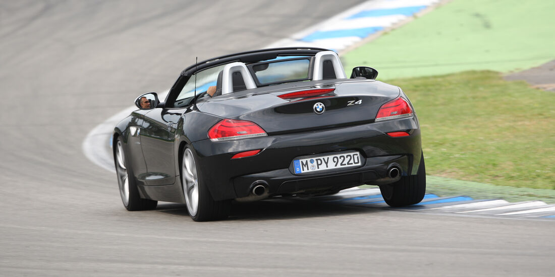 BMW Z4, Heckansicht