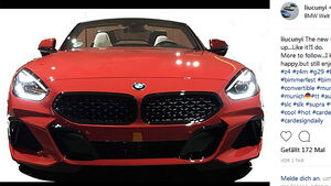 BMW Z4 Instagram