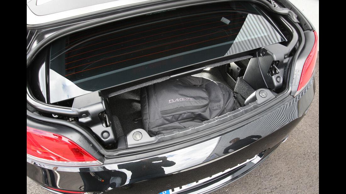 BMW Z4, Kofferraum