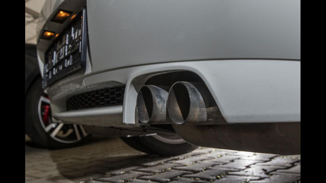 BMW Z4 M Coupé, Auspuff, Endrohr