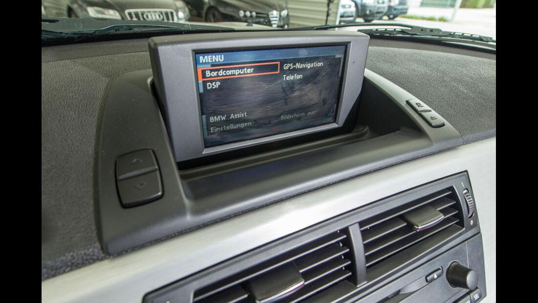 BMW Z4 M Coupé, Bildschirm, Navi