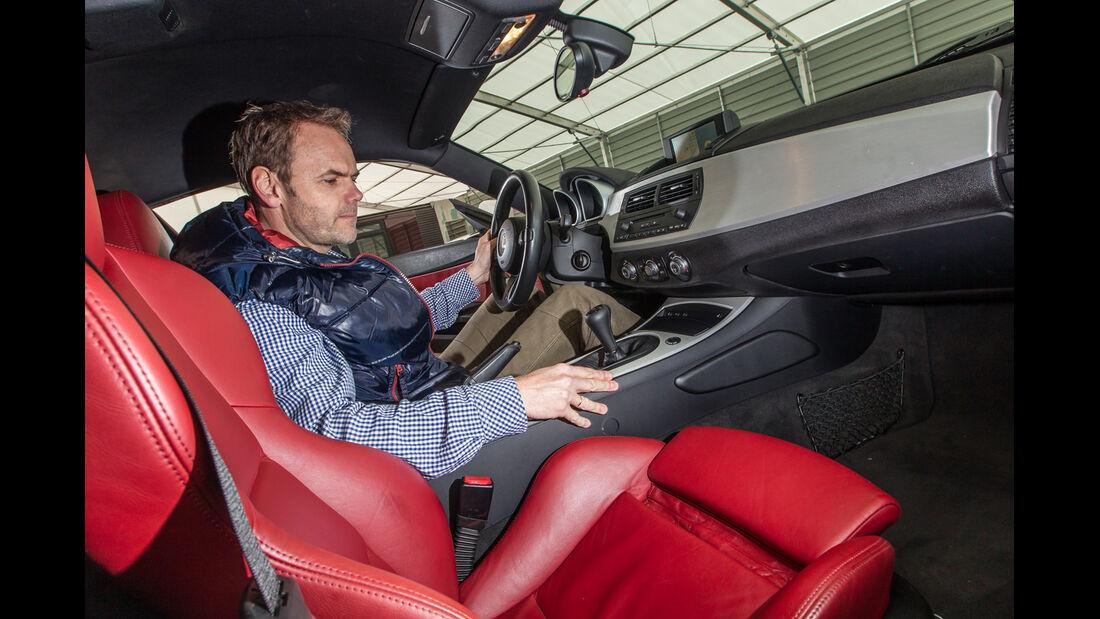 BMW Z4 M Coupé, Cockpit