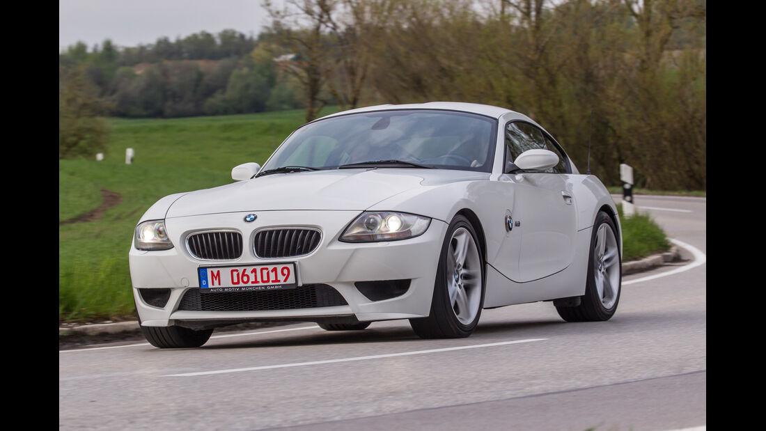 BMW Z4 M Coupé, Frontansicht